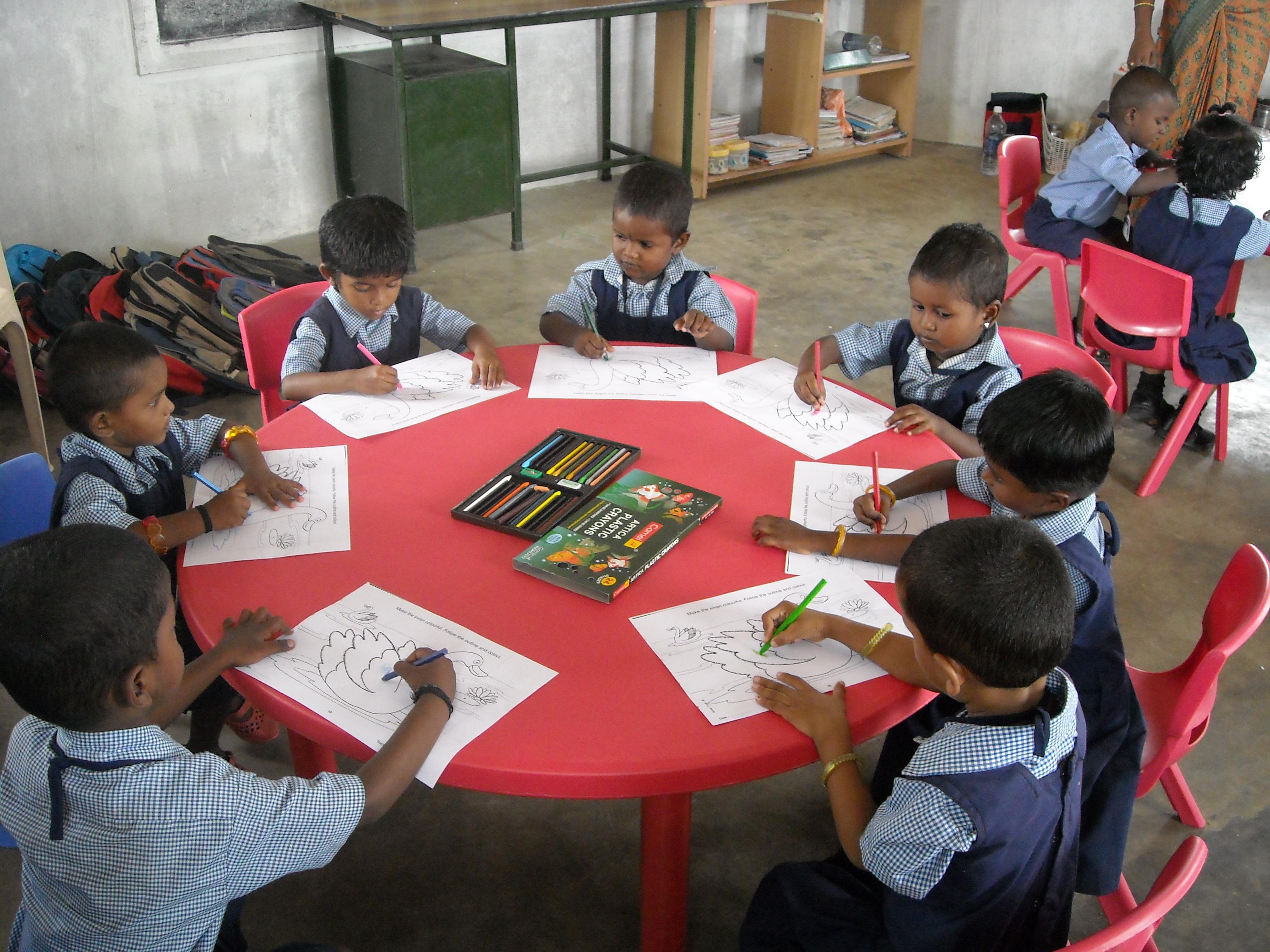 Een klas voor een klas housing4more for Meubilair basisschool